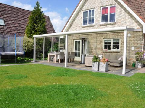Terrassenüberdachung, Sonnenschutz, Winschutz, Sichtschutz
