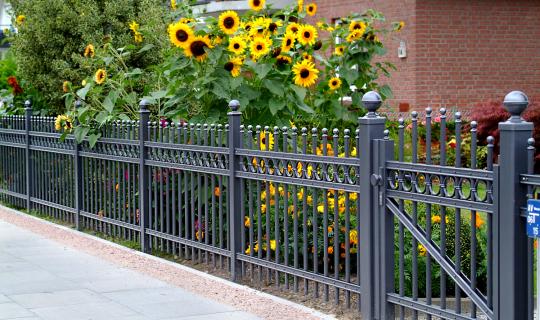 Zaun, Sichtschutz, Blickschutz, Windschutz, Design