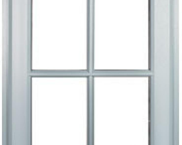 Einflügelige Fenster Schüco SI 82 L